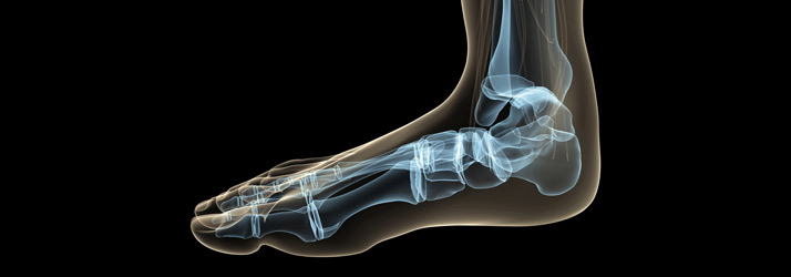 Chiropractic Downtown San Diego CA Foot X RAY